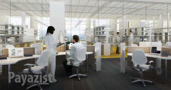 طراحی آزمایشگاه عمیق یا تندرستی و رفاه کارکنان - پایازیست