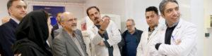 اولین حضور مدیرعامل سازمان انتقال خون در مرکز وصال